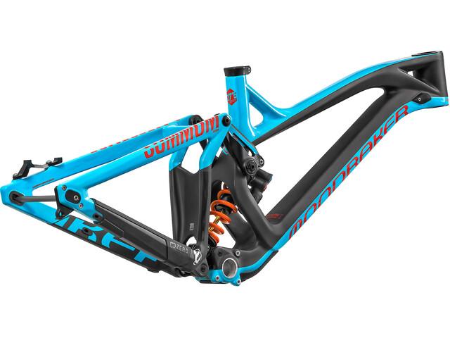 Mondraker Summum Carbon Pro Team Stel, light blue/flame red/carbon